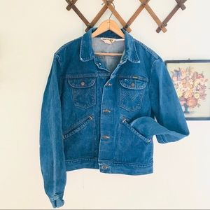 Vintage 70s Maverick Denim Trucker Jean Jacket